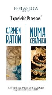 CARTEL EXPO CARMEN Y NUMMA