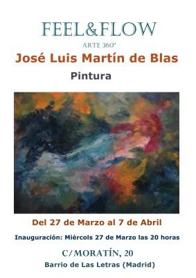 CARTEL XPO JOSE LUIS MARTÍN DE BLAS