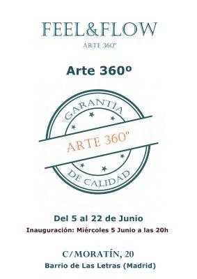 CARTEL EXPO ARTE 360º