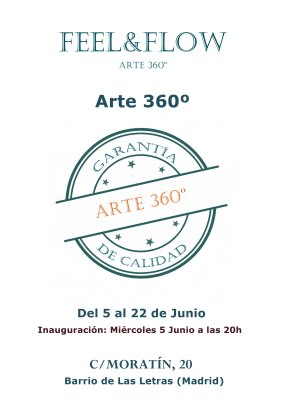 CARTEL EXPO ARTE 360º