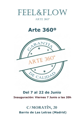 CARTEL EXPO ARTE 360º 2019
